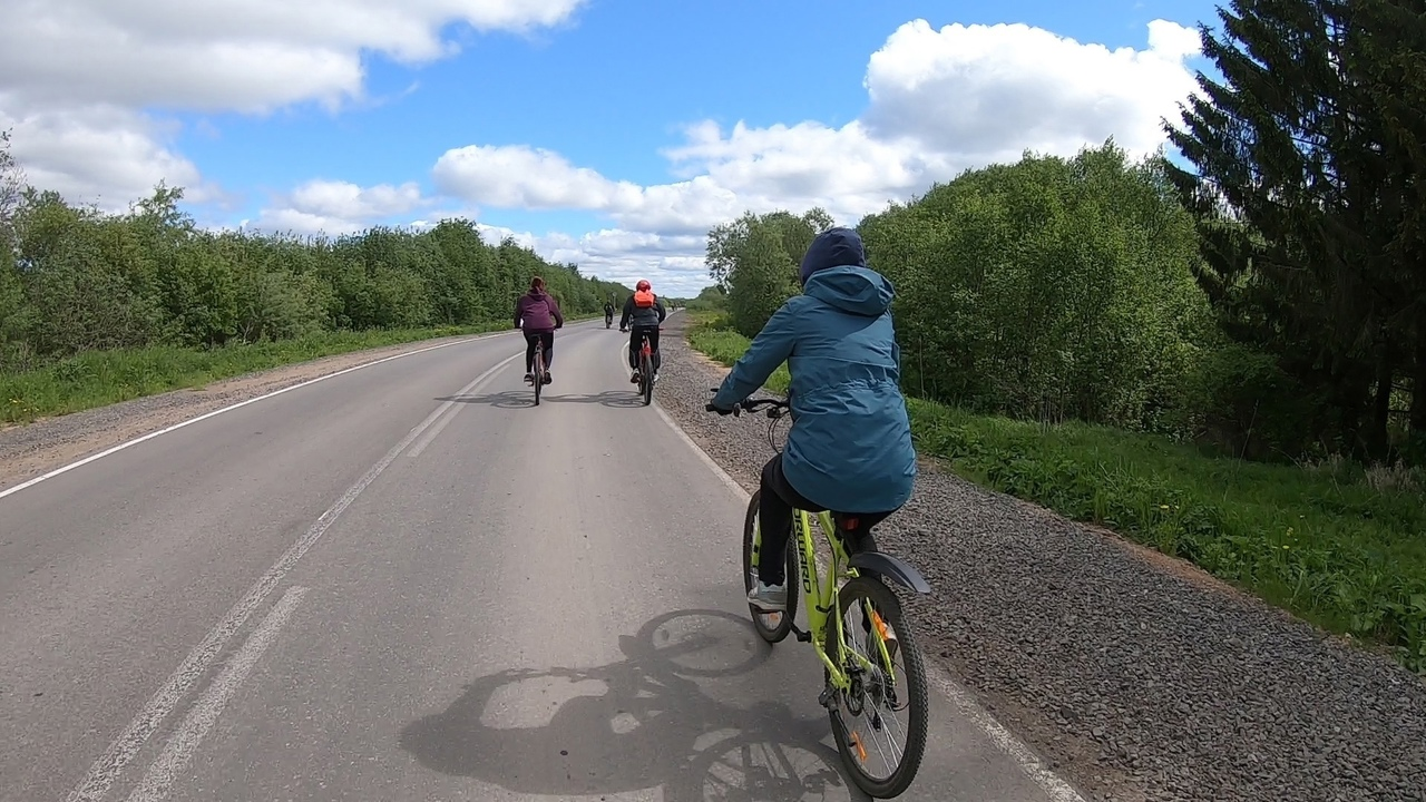 Фото: Велопробег вВеликом Устюге