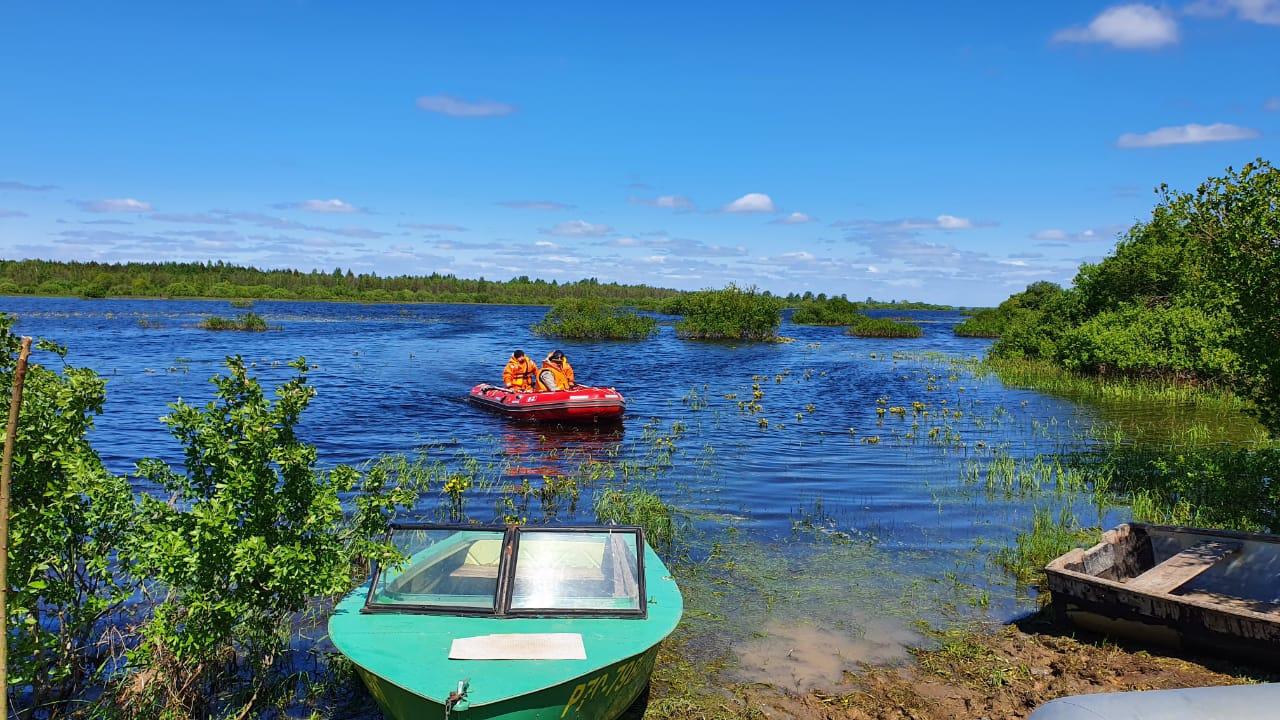 Поиски наКубенском озере. Фото: ГУМЧС России поВологодской области