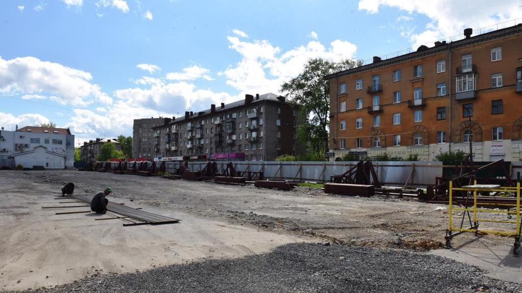 Что будет на месте старого вещевого рынка на улице Горького?