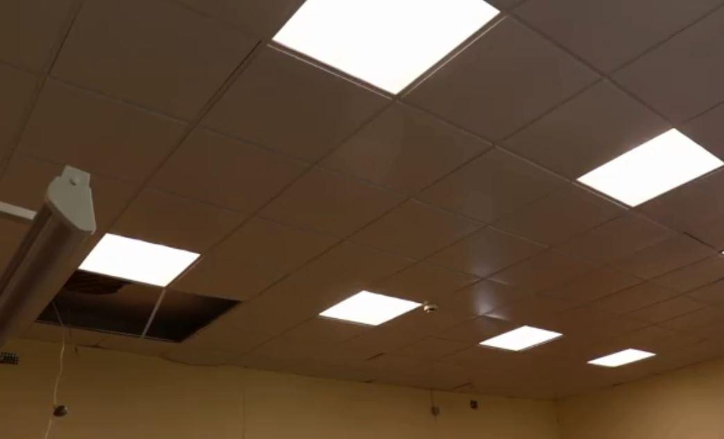 Потолок обрушился в школе в Соколе