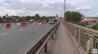 Движение по путепроводной развязке в районе мясокомбината ограничат в Череповце