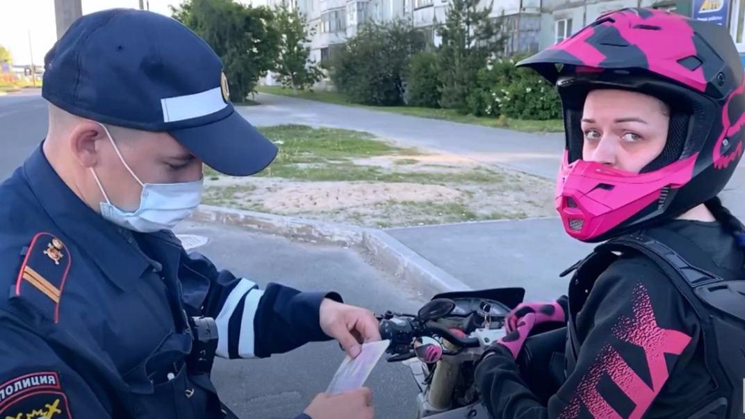 Погони, лихачества, нарушения: мотоциклистов проверили сотрудники ГИБДД