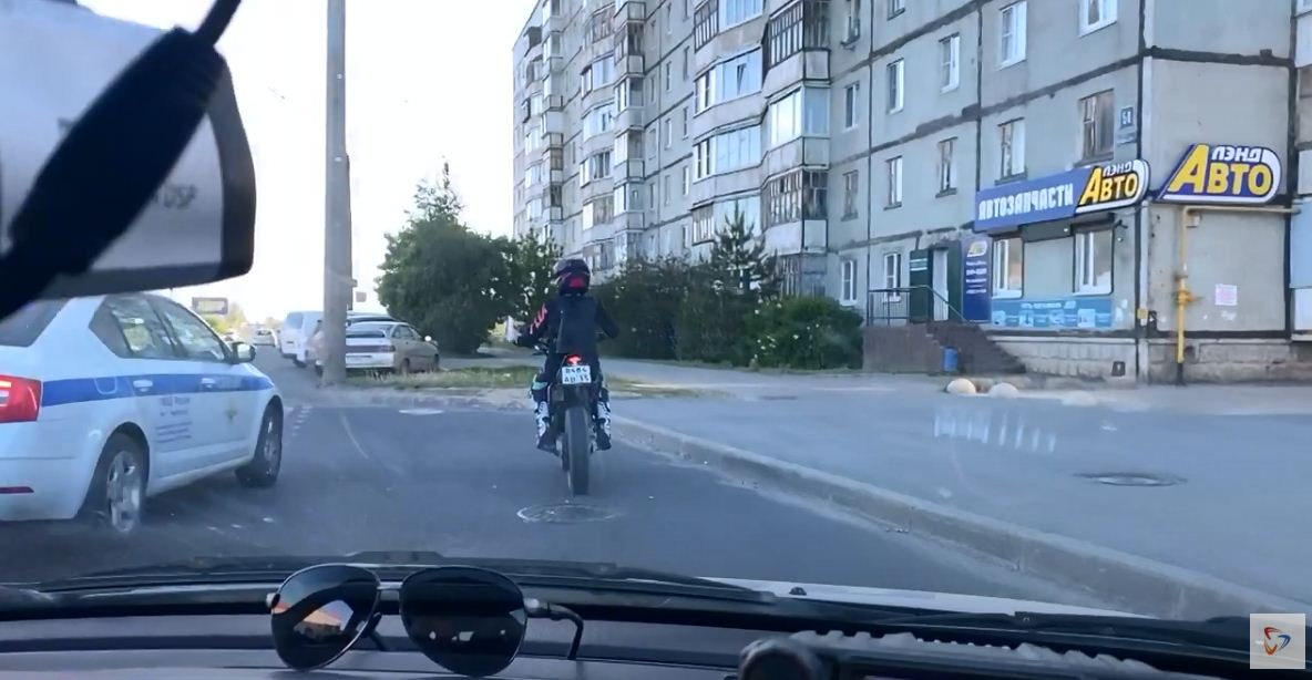 """В Череповце прошло мероприятие """"Мотоциклист"""""""