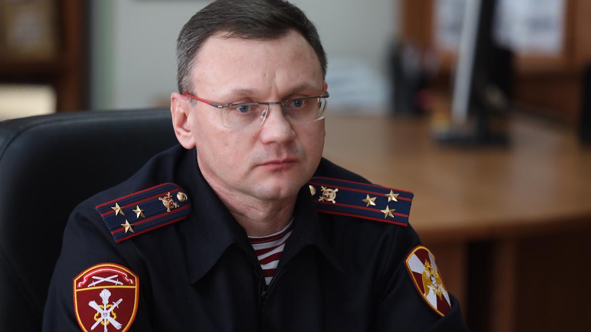 Новый врио начальника регионального управления Росгвардии назначен в Вологодской области
