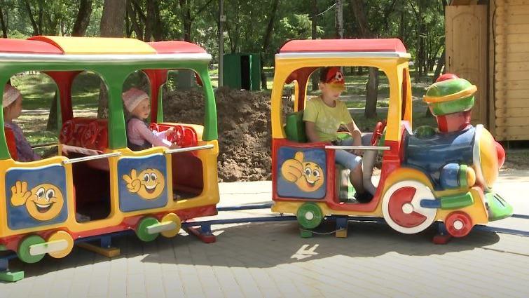 Спустя три года аттракционы вернулись в парк 200-летия Череповца
