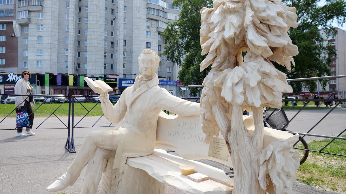 Где посмотреть на деревянные скульптуры?