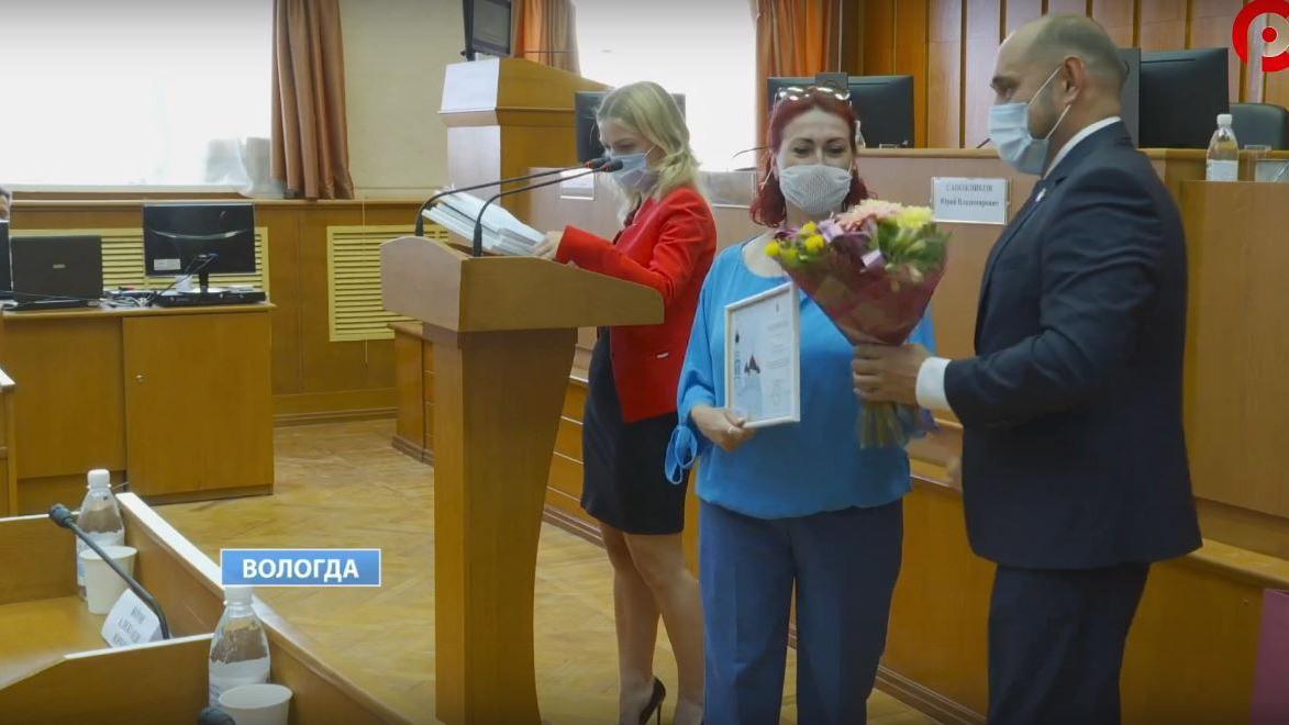 Почетные грамоты и благодарности врачам и медсестрам вручили сегодня в Вологде