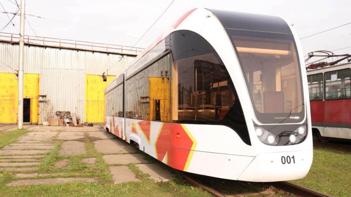 Трамвайные пути обследовали в Череповце перед покупкой новой техники