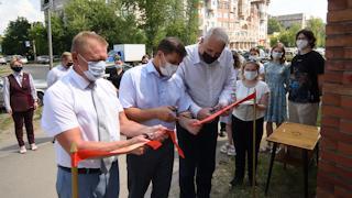 В торжественной церемонии открытия арт-объекта принял участие и мэр Вологды Сергей Воропанов
