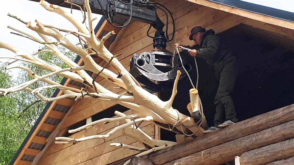 100 человек починили  родительский дом Рубцова