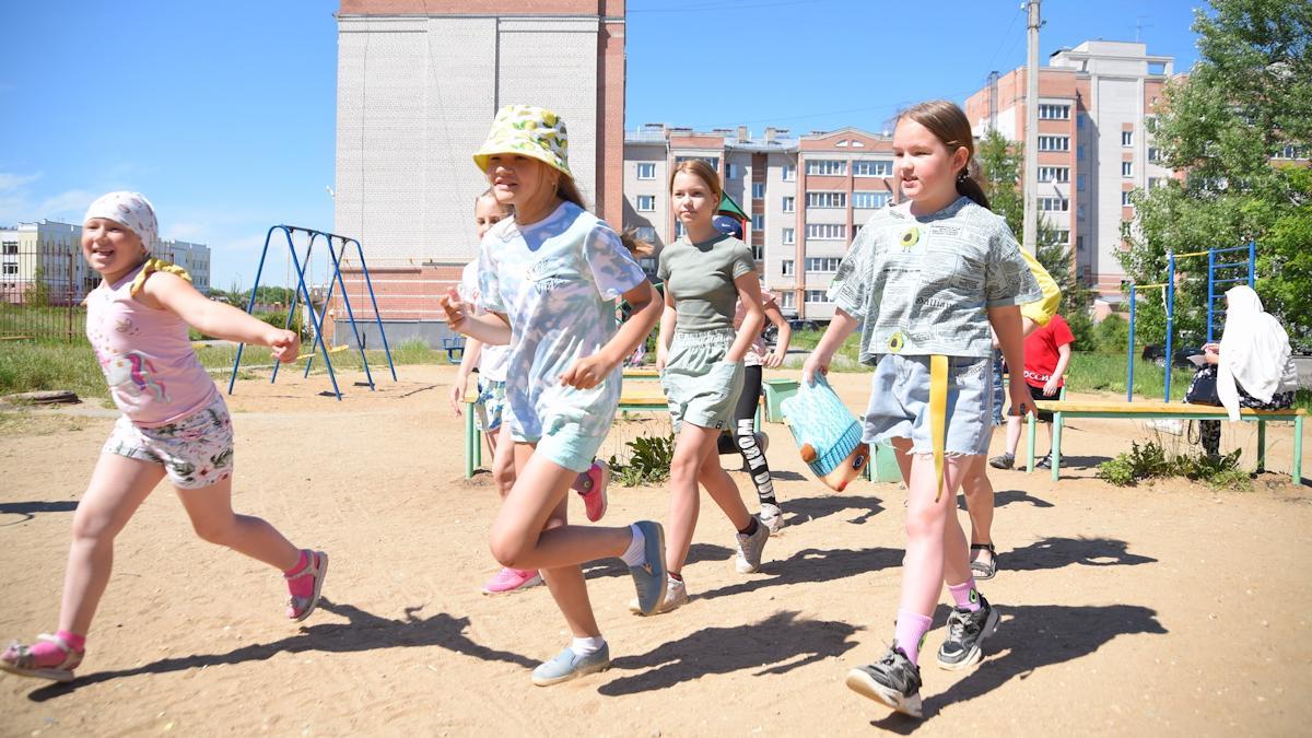4500 юных вологжан посетили площадки «Города детства» в июне
