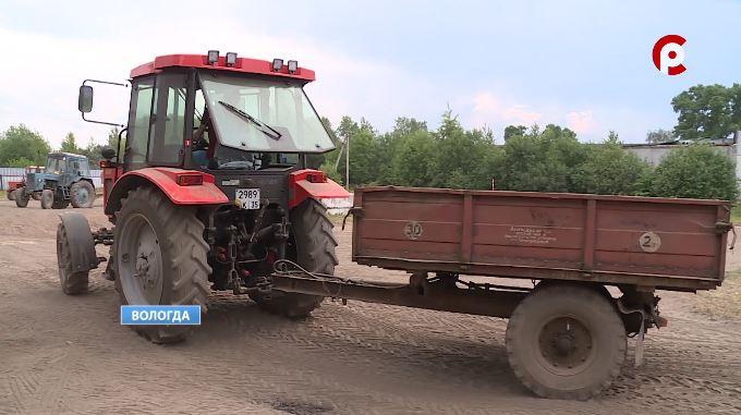 Работа на тракторе - обязательная дисциплина для агроинженеров
