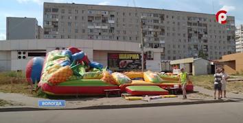Работу 20 батутов в Вологде, Соколе, Череповце и Великом Устюге приостановили