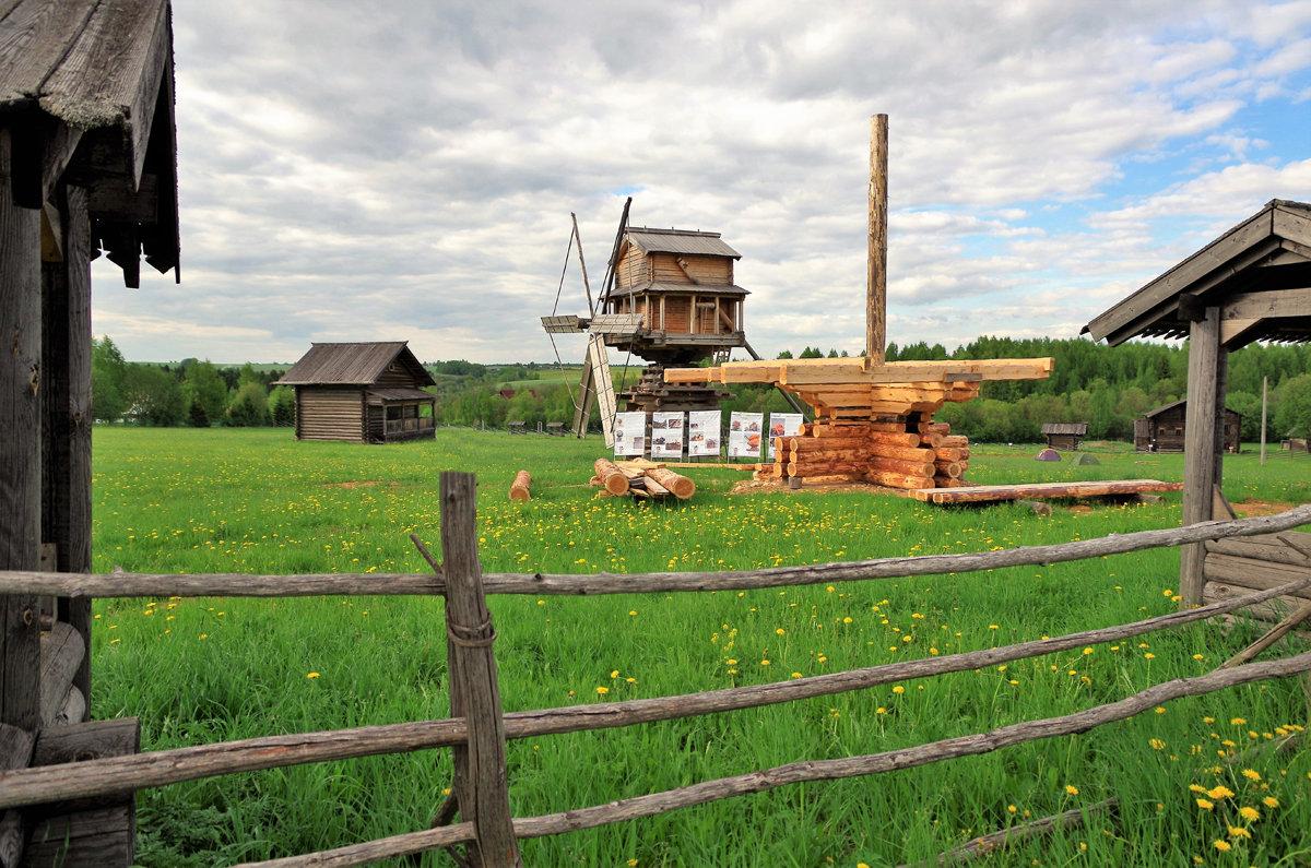 Какое образование давали в Вологодской деревне?