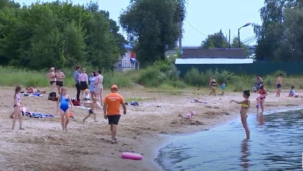 Спасатели проверили, готовы ли череповчане к экстренным ситуациям на пляже