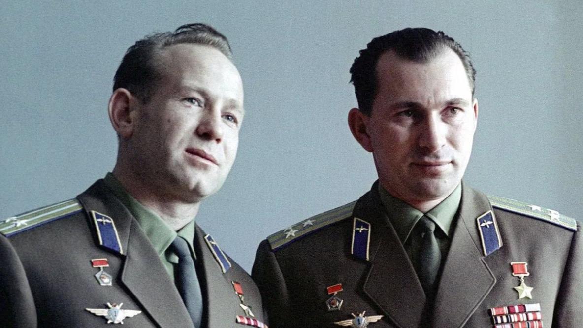 56 лет назад Вологда встретила советских лётчиков-космонавтов Алексея Леонова и Павла Беляева