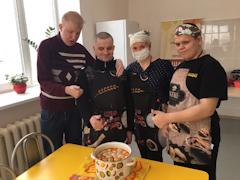 В кулинарной и гончарной мастерских было проведено 227 занятий для 40 детей и молодых людей с инвалидностью