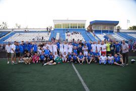 В Вологде гостила команда «Рома» под руководством Игоря Гамулы