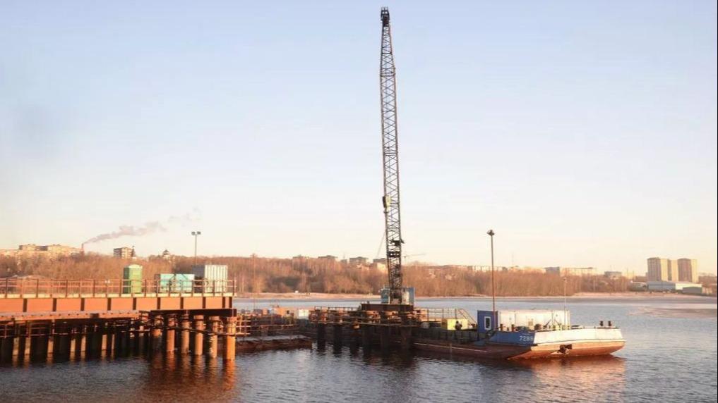 Задержали подозреваемого в крупной краже на строительстве нового моста в Череповце
