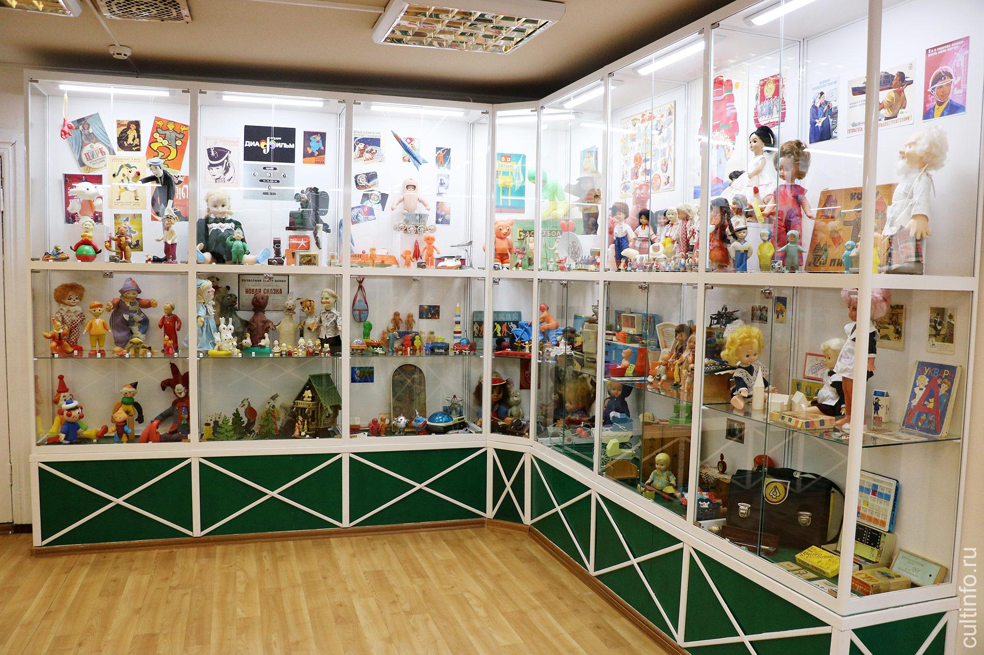 В музее детства осенью планируют открыть выставку игрушек, изготовленных на вологодской фабрике