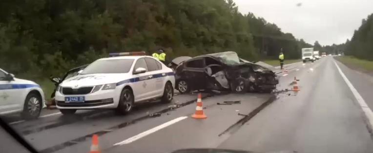 Авария на трассе под Череповцом: водитель погиб на месте
