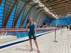 Выпускница Великоустюгской ДЮСШ Алина Бурчевская примет участие в Кубке России по плаванию