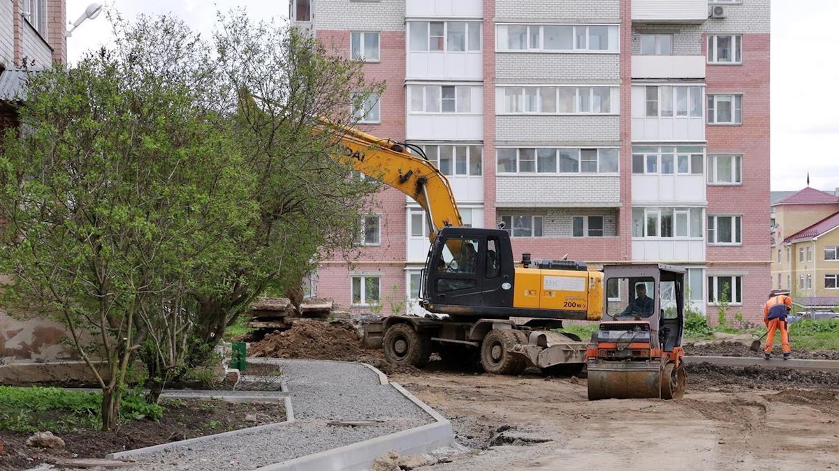 Более 400 миллионов рублей получила Вологодчина на благоустройство городов