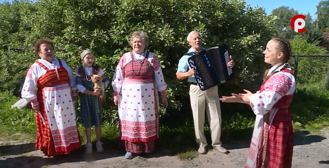 Свой участок семья из деревни Варламово решила показать на конкурсе «Вологодское подворье»