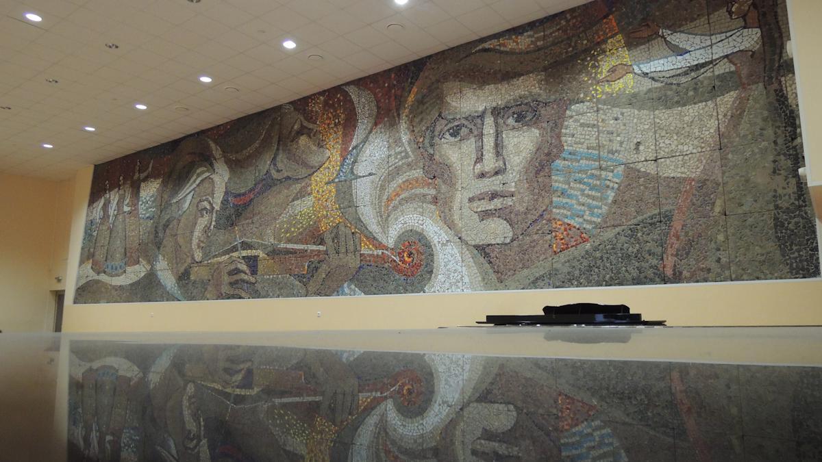 Три мозаики на зданиях Вологды причислили к объектам культурного наследия.