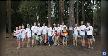 Добровольцы прибрались на правом берегу Черной речки