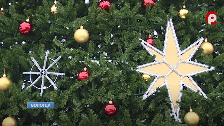Новую партию новогодних украшений закупают в Вологде