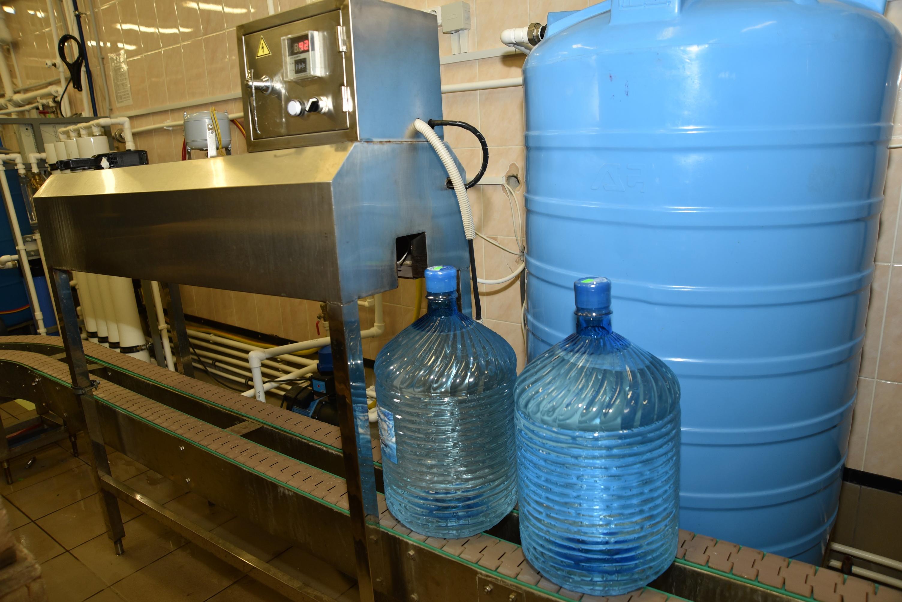 Минерализацию доводят до нормы - до 1 грамма минеральных солей на литр