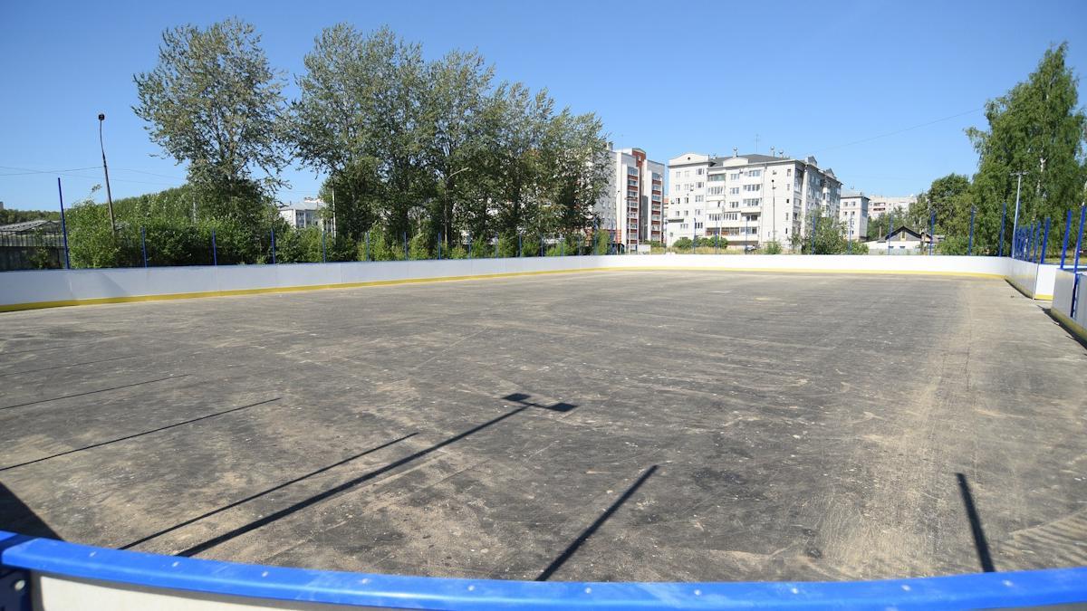 С опережением графика идет строительство ФОКОТа у школы №16 в Вологде