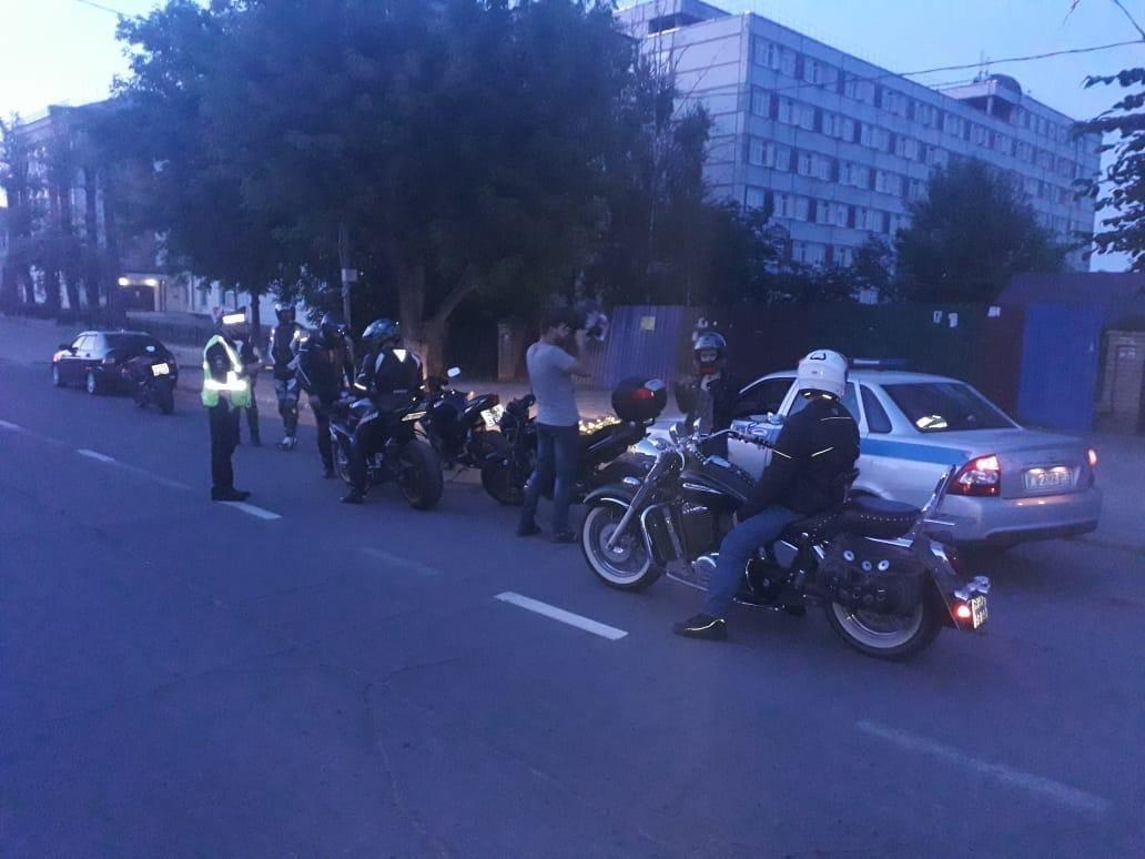 Череповчанам по ночам не дают спать мотоциклисты