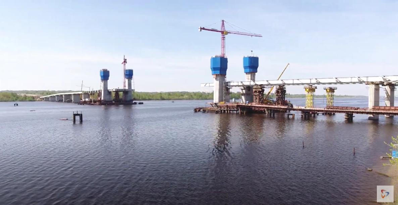 Новый мост через Шексну строится опережающими темпами
