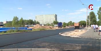 Ремонт улицы Новгородской завершают в Вологде