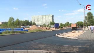 Долгожданный ремонт улицы Новгородской в Вологде завершат на следующей неделе