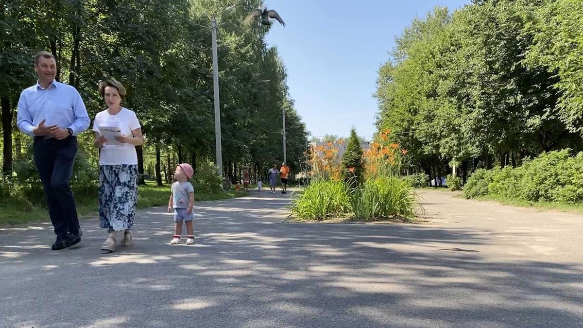 Центральную часть парка 200-летия Череповца начнут благоустраивать 1 августа