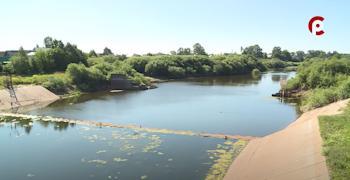 Вологжан обеспечили важным ресурсом, когда река Вологда обмелела
