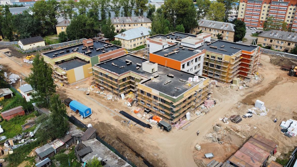 Самый крупный в Вологде детский сад на 420 мест будет сдан к концу октября