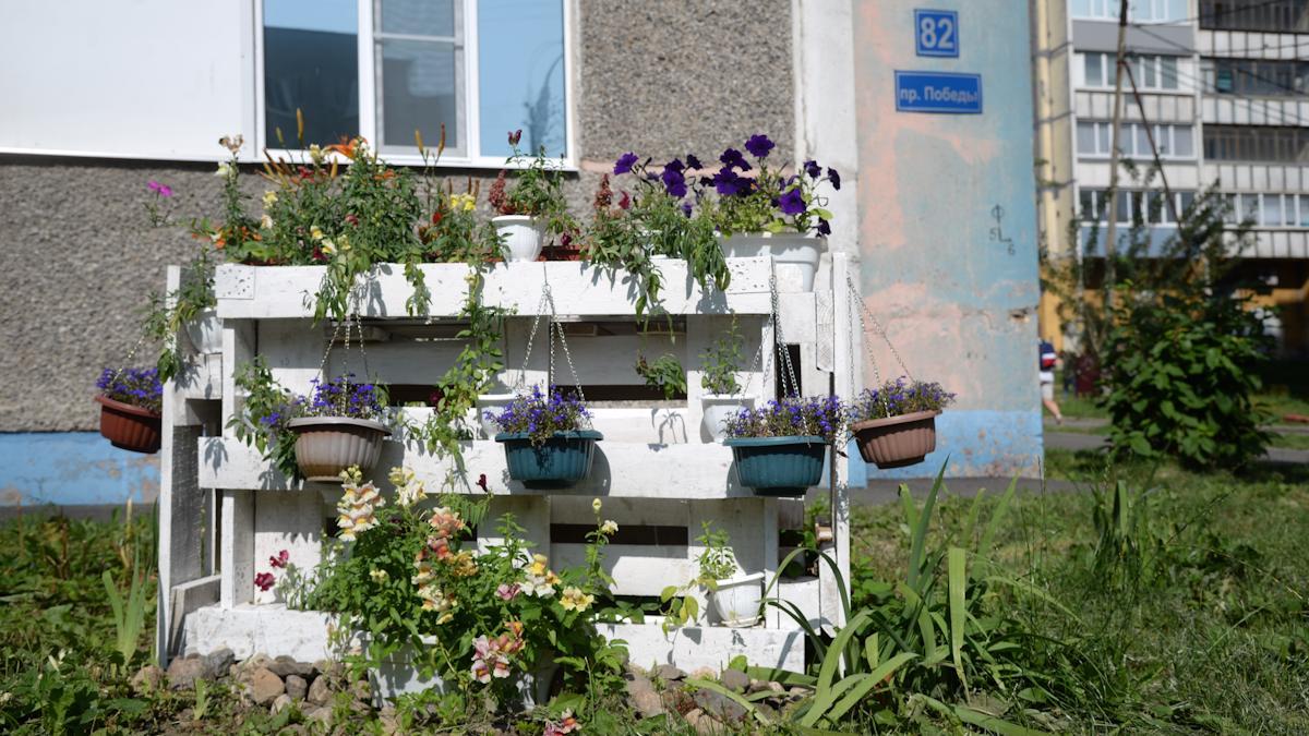 Цветы жизни помогли с цветами
