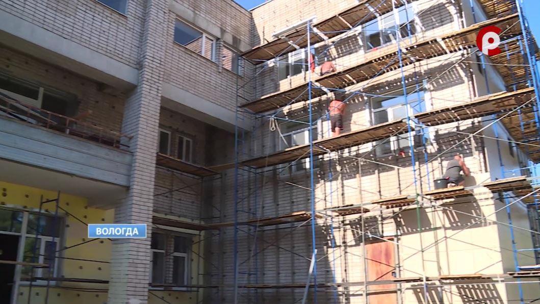 Ремонт в 15 школе в Вологде выполнен только на 25 процентов