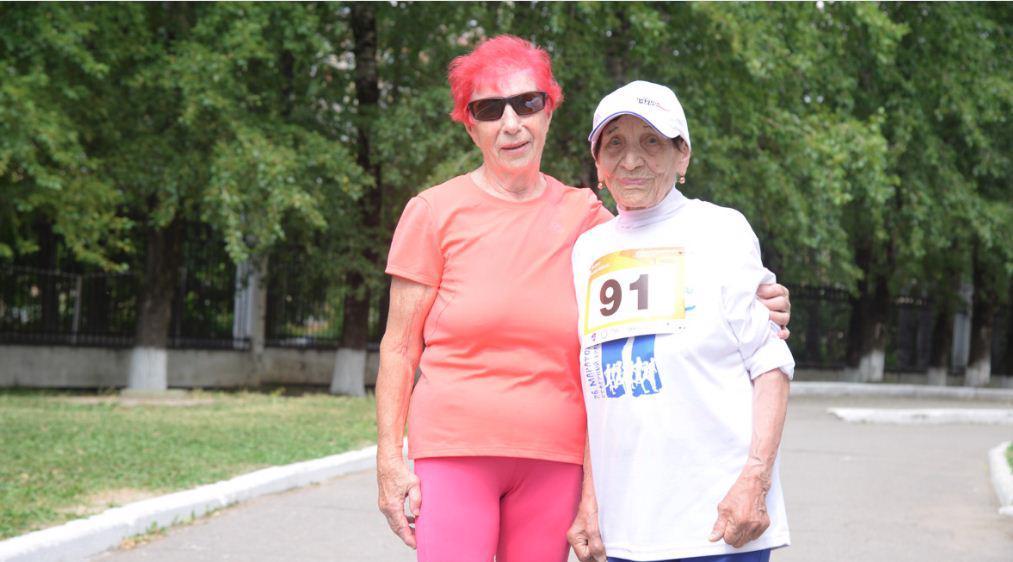 90-летняя череповчанка подарила себе на день рождения 90-километровый марафон