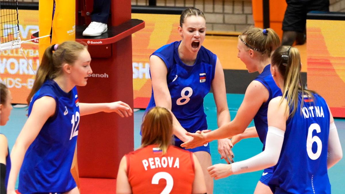 """Две волейболистки """"Северянки"""" стали бронзовыми призерами чемпионата мира U20!"""