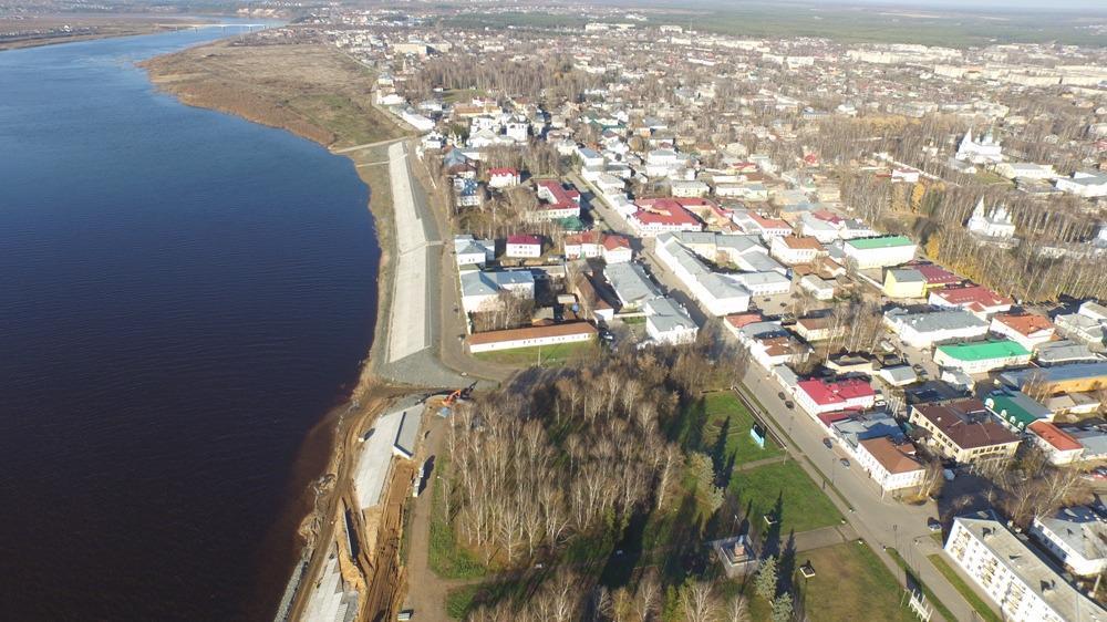 Из резервного фонда Правительства РФ выделят 20 миллионов рублей на строительство дамбы на Северной Двине