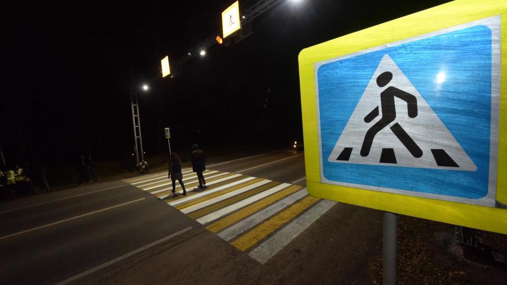 44 умных пешеходных перехода появятся на Вологодчине в этом году