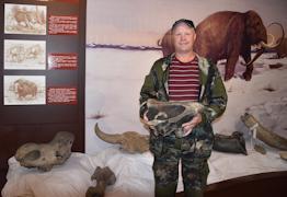 Череп носорога был найден на берегу Сухоны
