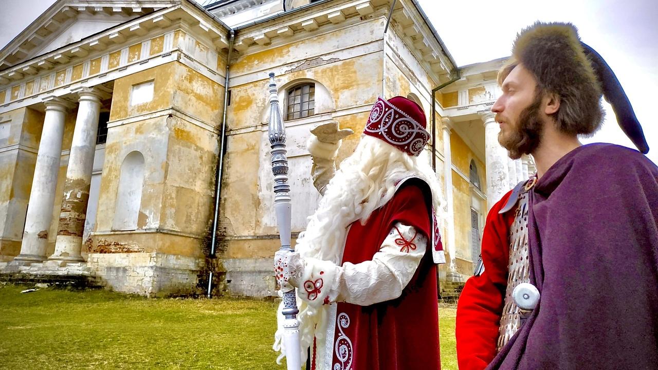 В рамках путешествия Дед Мороз посетил город Торжок