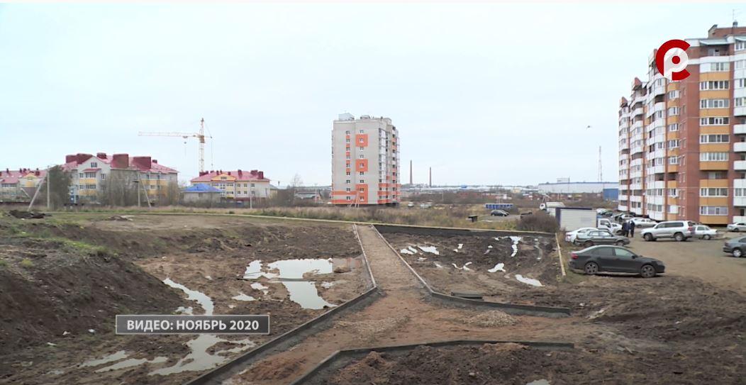 Работы в Рождественском парке стартовали ещё в ноябре прошлого года