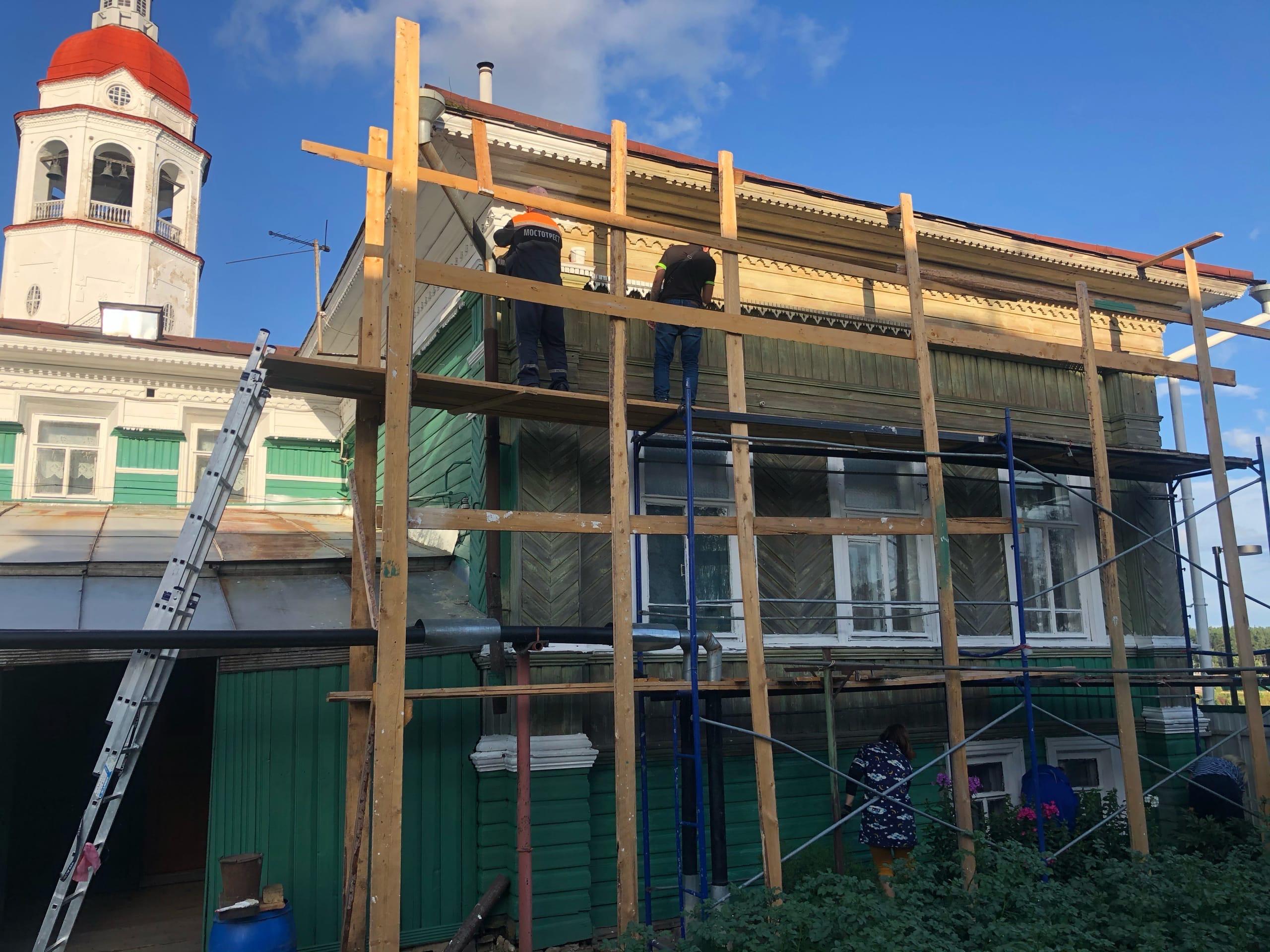 Обновить фасад здания 1900 года постройки помогли десятки неравнодушных местных жителей